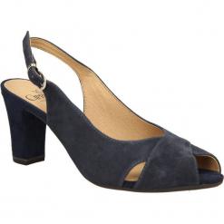 SANDAŁY CAPRICE 9-29609-24. Czarne sandały damskie Caprice. Za 169,99 zł.