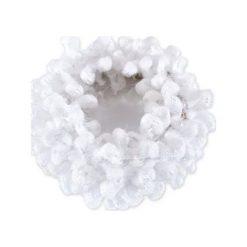 Donegal Szeroka gumka do włosów biała. Białe ozdoby do włosów marki Donegal. Za 3,94 zł.