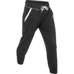 Spodnie sportowe, dł. 7/8, Level 1 bonprix czarny melanż. Czarne bryczesy damskie marki bonprix, melanż. Za 74,99 zł.
