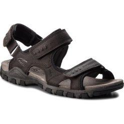 Sandały CAMEL ACTIVE - Ocean 422.11.11 Mocca/Czarny. Czarne sandały męskie skórzane marki Camel Active. W wyprzedaży za 279,00 zł.