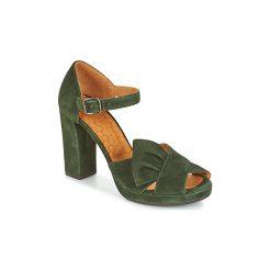 Sandały Chie Mihara  BAMBOLE. Zielone sandały damskie Chie Mihara. Za 935,20 zł.