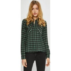Noisy May - Koszula Erik. Szare koszule damskie w kratkę marki Noisy May, l, z bawełny, casualowe, z klasycznym kołnierzykiem, z długim rękawem. W wyprzedaży za 119,90 zł.