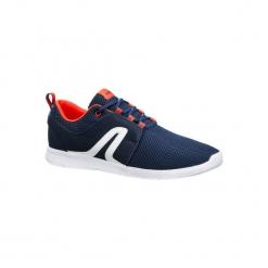 Buty do chodu sportowego męskie Soft 140 Mesh granatowo-czerwone. Niebieskie buty fitness męskie marki NEWFEEL, z meshu. Za 69,99 zł.