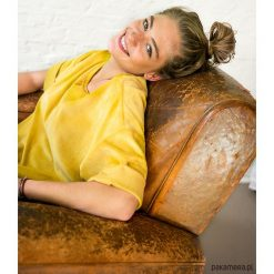 Bluzy damskie: Bluza pluszowa fiolet