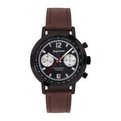 """Zegarki męskie: Zegarek """"G10-003"""" w kolorze brązowo-czarnym"""