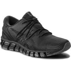 Buty ASICS - Gel-Quantum 360 4 1021A028 Dark Grey/Black 020. Szare buty do biegania męskie marki Asics, z poliesteru. W wyprzedaży za 559,00 zł.