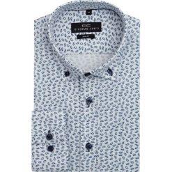 Koszula SIMONE KDBS000130. Czarne koszule męskie na spinki marki TOM TAILOR DENIM, l, z bawełny, button down, z długim rękawem. Za 169,00 zł.