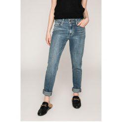 Levi's - Jeansy. Brązowe jeansy damskie rurki marki Levi's®. W wyprzedaży za 239,90 zł.