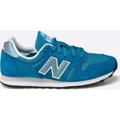 New Balance - Buty WL373GI. Zielone buty sportowe damskie New Balance, z materiału. W wyprzedaży za 159,90 zł.