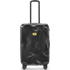 Walizka Stripe średnia Super Black. Czarne walizki marki Crash Baggage, duże. Za 1225,00 zł.
