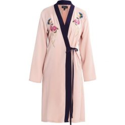 Płaszcze damskie pastelowe: Topshop Płaszcz wełniany /Płaszcz klasyczny nude