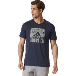 Adidas Koszulka męska ID Flash Tee granatowa r. L (BS2203). Szare koszulki sportowe męskie Adidas, l. Za 119,27 zł.