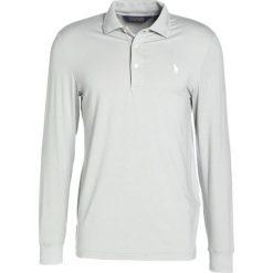 Polo Ralph Lauren Golf PERF INTERLOCK PROFIT Koszulka polo light grey heather. Szare koszulki polo marki Polo Ralph Lauren Golf, m, z elastanu, z długim rękawem. W wyprzedaży za 383,20 zł.