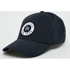 Tommy Hilfiger - Czapka. Czarne czapki z daszkiem męskie TOMMY HILFIGER, z bawełny. Za 179,90 zł.