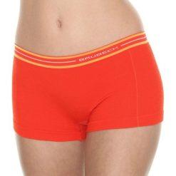 Bokserki damskie: Brubeck Bokserki damskie Active Wool pomarańczowe r.M (BX10860)