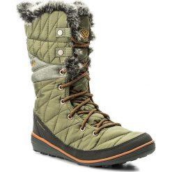 Śniegowce COLUMBIA - Heavenly Omni-Heat BL1661 Zuc/Bright Copper 951. Zielone buty zimowe damskie Columbia, z materiału. W wyprzedaży za 299,00 zł.