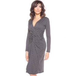 """Sukienki hiszpanki: Sukienka """"Inès"""" w kolorze czarno-białym"""
