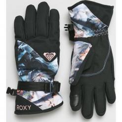 Roxy - Rękawiczki. Czerwone rękawiczki damskie Roxy, z materiału. Za 199,90 zł.