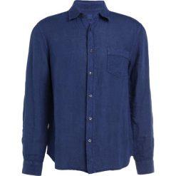 Koszule męskie na spinki: 120% Lino CAMICIA REGULAR Koszula crown blue