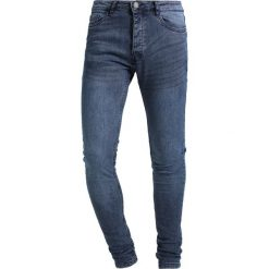 Jeansy męskie: Brave Soul DONTE Jeans Skinny Fit blue deniim