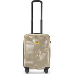 Walizka Icon kabinowa złota. Szare walizki marki Crash Baggage, z materiału. Za 880,00 zł.