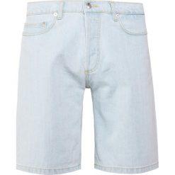 Bermudy męskie: Editions MR Szorty jeansowe plain bleached denim