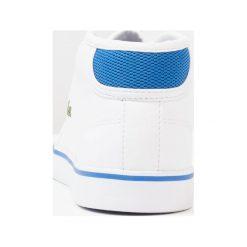 Trampki chłopięce: Lacoste AMPTHILL Tenisówki i Trampki wysokie white/blue