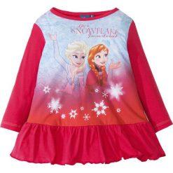 """Sukienki dziewczęce: Sukienka """"Kraina lodu"""" bonprix różowy hibiskus z nadrukiem"""