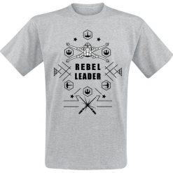 T-shirty męskie: Star Wars Rebel Leader T-Shirt odcienie szarego