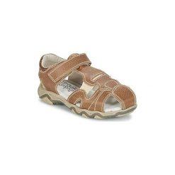Sandały Dziecko  Citrouille et Compagnie  MOLETTE. Brązowe sandały chłopięce Citrouille et Compagnie. Za 127,20 zł.
