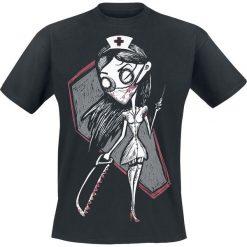 Grimm Nurse Psycho T-Shirt czarny. Czarne t-shirty męskie z nadrukiem Grimm, s, z okrągłym kołnierzem. Za 99,90 zł.