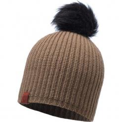 Czapka damska Knitted Adalwolf brązowa (BH115405.316.10.00). Brązowe czapki zimowe damskie Buff. Za 146,63 zł.