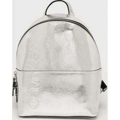 Calvin Klein - Plecak. Szare plecaki damskie marki Calvin Klein. Za 579,90 zł.