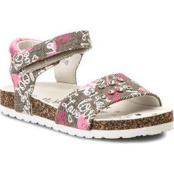 Sandały dziewczęce: Sandały NELLI BLU – CM170817-48 Beżowy