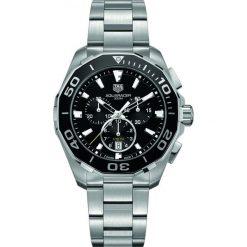 ZEGAREK TAG HEUER Aquaracer Chronograph CAY111A.BA0927. Czarne zegarki męskie marki KALENJI, ze stali. Za 9070,00 zł.