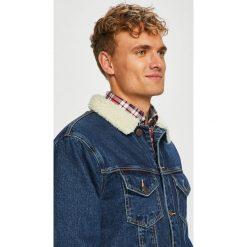 Jack & Jones - Kurtka. Czarne kurtki męskie jeansowe marki Jack & Jones, l, z okrągłym kołnierzem. Za 429,90 zł.