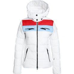 Bogner Fire + Ice Kurtka puchowa offwhite/multicolor. Białe kurtki sportowe damskie marki Bogner Fire + Ice, z materiału. W wyprzedaży za 1679,20 zł.