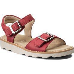 Sandały dziewczęce: Sandały CLARKS – Crown Bloom 261310566 Pink Leather
