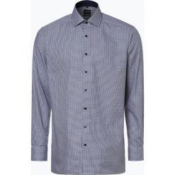 OLYMP Luxor modern Fit - Koszula męska – niewymagająca prasowania, niebieski. Niebieskie koszule męskie non-iron marki OLYMP Luxor modern Fit, m. Za 149,95 zł.