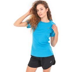Asics Koszulka damska Stripe Top Asics Diva Blue Heather r. S (1412248156). Brązowe topy sportowe damskie Asics, s. Za 90,91 zł.