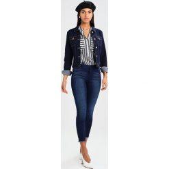Bomberki damskie: Noisy May NMDEBRA JACKET  Kurtka jeansowa dark blue denim