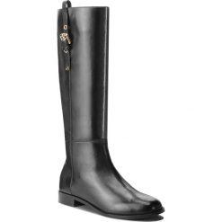 Oficerki EMPORIO ARMANI - X3O165 XF261 00002 Black. Czarne buty zimowe damskie Emporio Armani, ze skóry, na obcasie. Za 2089,00 zł.