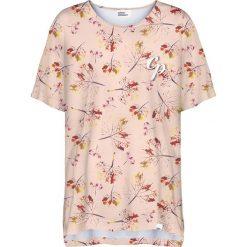 Colour Pleasure Koszulka damska CP-033 262 beżowo-brązowa r. uniwersalny. Fioletowe bluzki damskie marki Colour pleasure, uniwersalny. Za 76,57 zł.