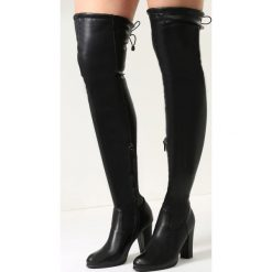 Czarne Kozaki Magic Of Desire. Czarne buty zimowe damskie vices, na wysokim obcasie. Za 169,99 zł.