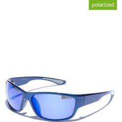 Okulary przeciwsłoneczne męskie lustrzane: Okulary męskie w kolorze niebieskim