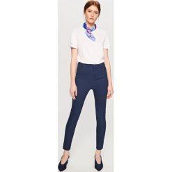 Spodnie z wysokim stanem - Granatowy - 2