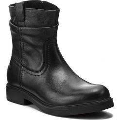 Botki LASOCKI - WI16-MEDIA-01 Czarny. Czarne buty zimowe damskie Lasocki, ze skóry. Za 229,99 zł.