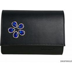 Torebki i plecaki damskie: MANZANA Kopertówka Koperta niebieskie cekiny