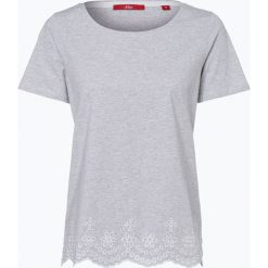 T-shirty damskie: s.Oliver Casual – T-shirt damski, szary