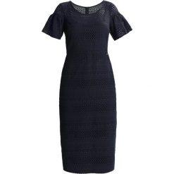 Odzież damska: Armani Exchange Sukienka etui navy